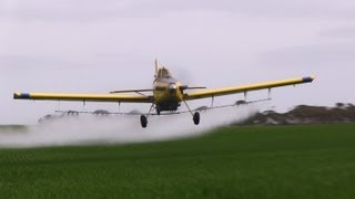 Air Tractor 802 & 602 Awesome Vid Spraying Crop Dusting