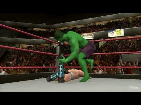 WWE SmackDown vs Raw 2010 'HULK vs Chris Jericho' TRUE-HD QUALITY