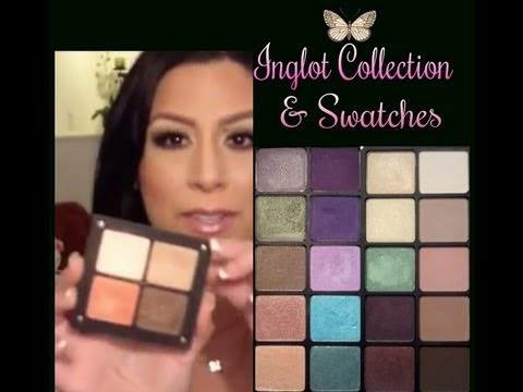 My Inglot Collection and Swatches