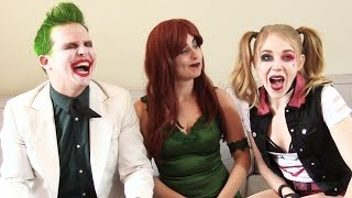 THE DRAWING CHALLENGE!!!! Joker, Harley Quinn, Poison Ivy