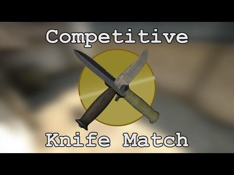 Cs:go Competitive Knife Match - 5v5 Knives Only!! video