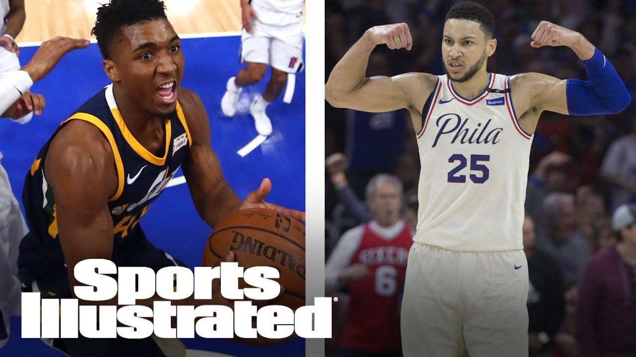 Ben Simmons, Donovan Mitchell Top NBA's 2017-18 All-Rookie Team List | SI Wire | Sports Illustrated
