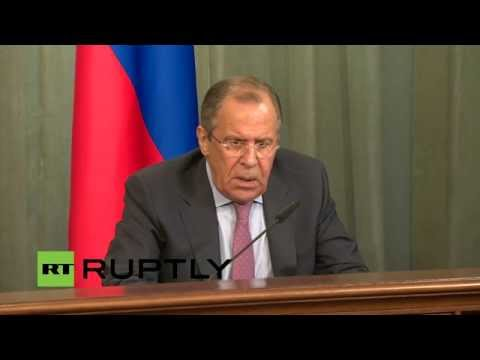 LIVE: Italian FM Paolo Gentiloni and Lavrov hold joint presser in Moscow - English audio