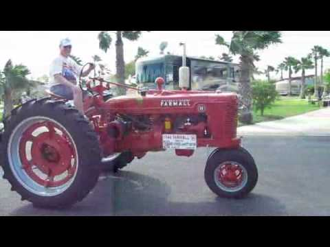 2012 Tractor Club Parade at Victoria Palms RV Resort in Donna Texas