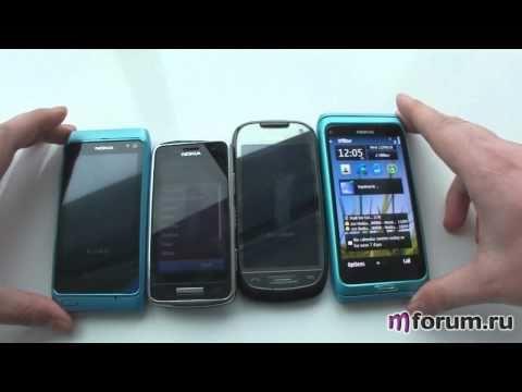 Nokia N8, Nokia E7, Nokia C7-00, Nokia C6-01