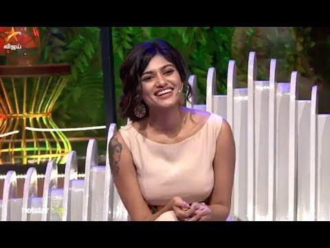 Azhagiya oviya | Pongal Special Vijay tv | Simbu and oviya on priyankas show