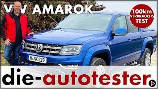 VW Amarok V6 3.0 TDI 190 kW (258 PS) - 100 km Verbrauch Test Probefahrt | 2019 | Review | Deutsch