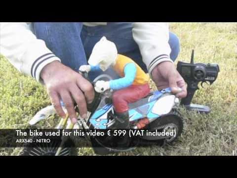 Moto RC - ARX540 - NITRO - BASE version (Official video from AR RACING) - No Venom