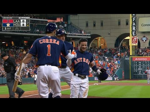 LAA@HOU: Altuve has an impressive game at the plate