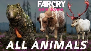 Far Cry New Dawn All Animal Locations (Master Skinner Trophy / Achievement Guide)