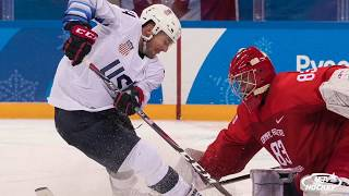 2018 Olympic Winter Games: U.S. Men Defeated by OAR, 4-0