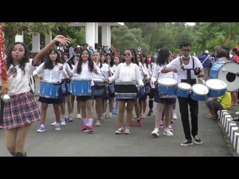 Festival Komodo Drumband SMA Negeri 1 Labuan Bajo