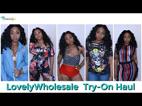 I SPENT $100 ON LOVELYWHOLESALE CLOTHES!! | TRY- ON HAUL & REVIEW