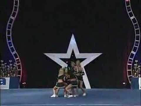 StyleShock Stunt Group Finals 2007 with Julie A, Ashley M, Kristin B, Rachel D and Jamie F. http://www.styleshockcheeranddance.com/