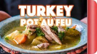 One-Pot Turkey Bone Broth Recipe