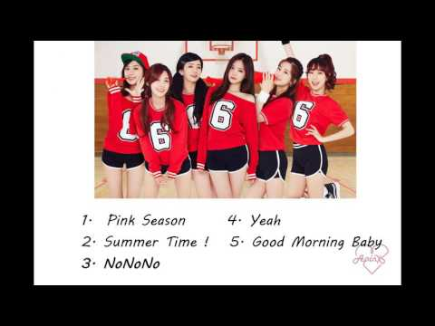 Apink Japanese Ver. Songs Compilation 2014 - 2016