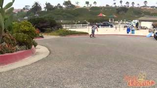 Longboarding Moonlight in Encinitas, California