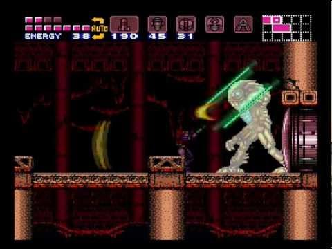 Super Metroid (SNES) - Full Game (100% run with best ending)