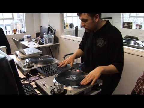 Behind the scenes on DJ Hero
