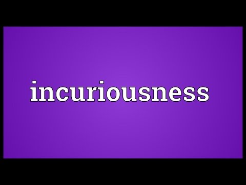 Header of incuriousness