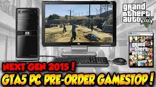 GTA 5 PC Pre-order Available at Gamestop! PC Confirmed? GTA 5 Release For Xbox One & PS4 2015?!