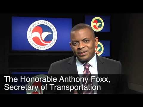 U.S. Secretary of Transportation, Anthony Foxx on Infrastructure at U.S. Chamber of Commerce