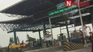 Clip: Gian lân thu phí BOT trạm Mỹ Lộc - Nam Định