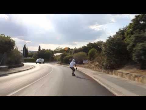 Longboarding: Rolando's challenge