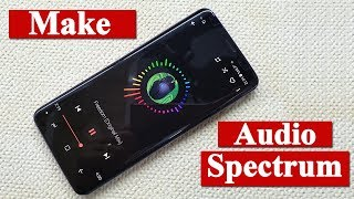 How to make Audio Spectrum in android (No root)