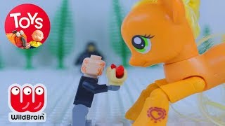 Lego Star Wars & My Little Pony Stop Motion Episode | Toy Store | Toys For Kids