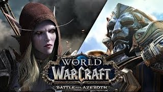 [World of Warcraft Battle for Azeroth][ Strange Looking Dogs ]Берли ст 1080р60HD