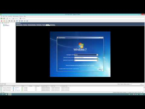 Creating VM's with VMware Client in a ESXi 5.1 Server