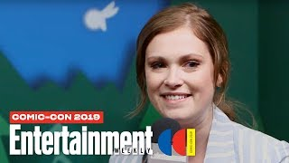 'The 100' Stars Eliza Taylor & Richard Harmon LIVE | SDCC 2019 | Entertainment Weekly