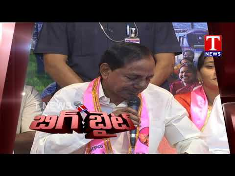 Big Byte | CM KCR Press Meet | Telangana Bhavan | TNews live Telugu