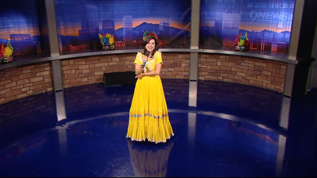 Belen De Leon sings, dances on Cinco de Mayo -- 9NEWS ...