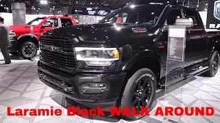 2019 Ram 2500 Laramie Black