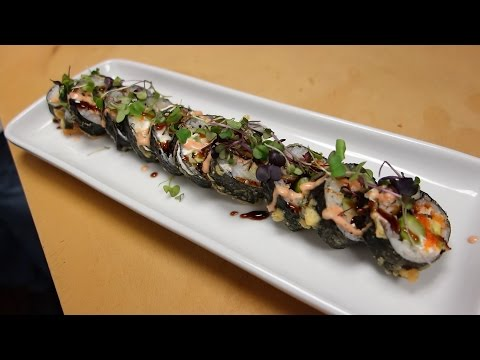 Eel Tempura Roll - How To Make Sushi Series