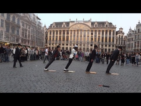 Michael Jackson Smooth Criminal Flashmob 2012 video