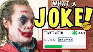 Joker's 44% Rotten Tomatoes Top Critics Score Exposes The Access Media's Hatred of Fandom
