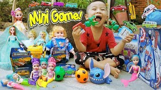Trò Chơi Mini Game Quà Tặng Búp Bê ❤ ChiChi ToysReview TV ❤ Đồ Chơi Trẻ Em Baby Doli