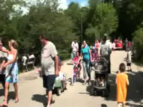 Canoe River Campground July 4th Parade 2011.mpg