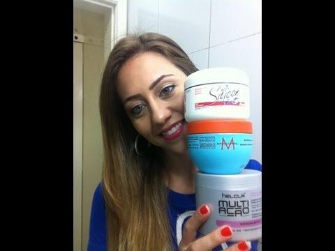 Produtos que uso no cabelo para cuidar e hidratar (silicon mix. moroccanoil. multi ação. aussi...)