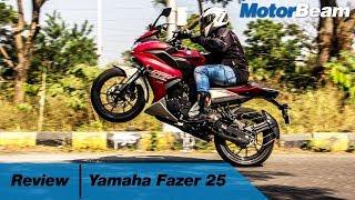 Yamaha Fazer 25 - Is It A Tourer? | MotorBeam