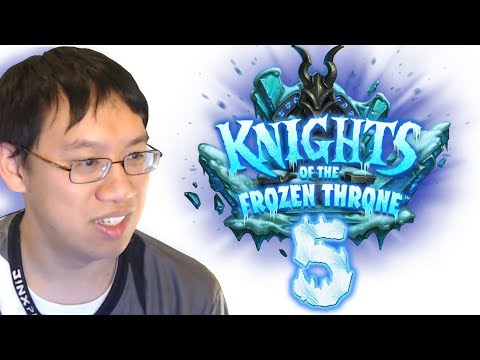Knights of the Frozen Throne - Card Review #5 w/ Trump - Featuring The Most Hyped Card of the Set!