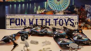 scompattare Unboxing di Star Wars Micro Machines Series 6 Blind Bags 03325+it