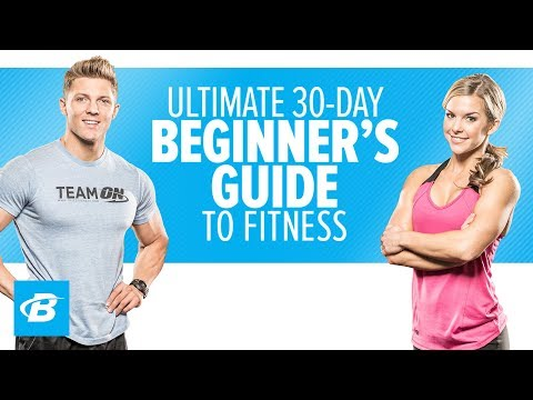 Ultimate 30 Day Beginners Guide To Fitness - Promo - Bodybuilding video