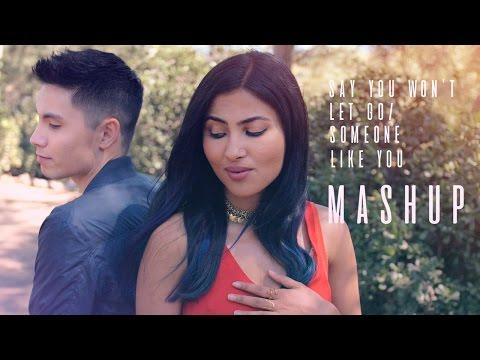 Say You Won't Let Go/Someone Like You MASHUP - Sam Tsui + Vidya Vox