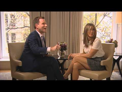 Jennifer Aniston ITV Breakfast Interview 24/11/14