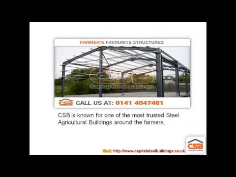 Agricultural & Farming Steel Buildings of Capital Steel Buildings