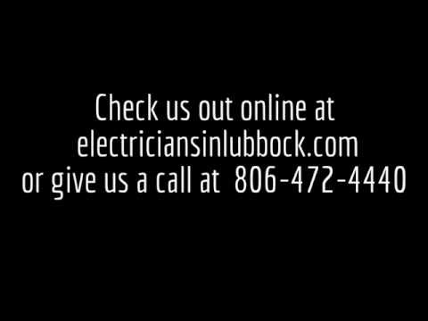 Best Electrical Contractor Lubbock Tx  806-472-4440